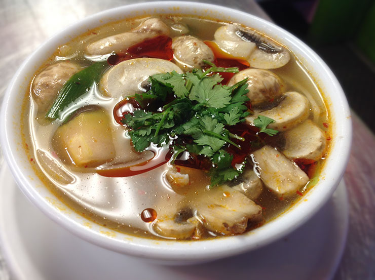 Delicious Tom Yum Soup
