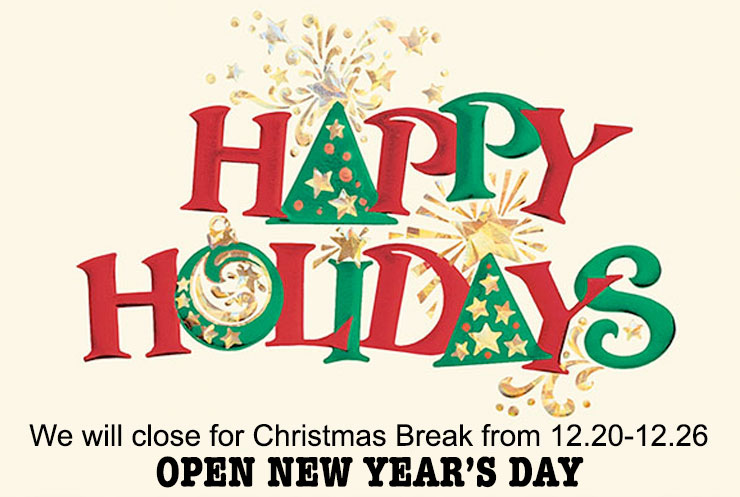 Happy Holidays To All Our Friends!